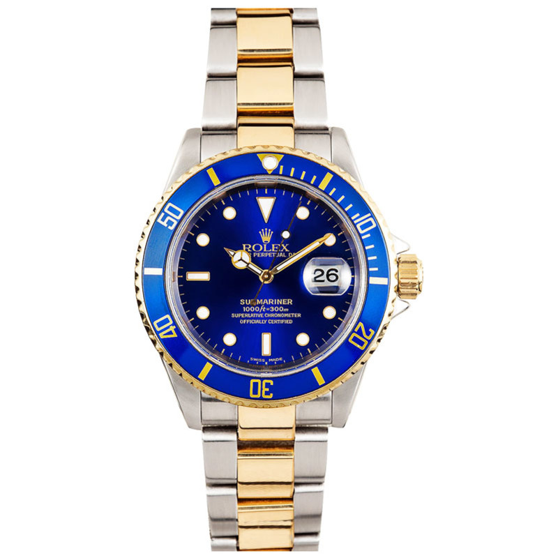 Rolex Two-Tone Blue Submariner