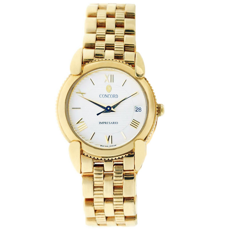 Gold Concord Impresario Watch