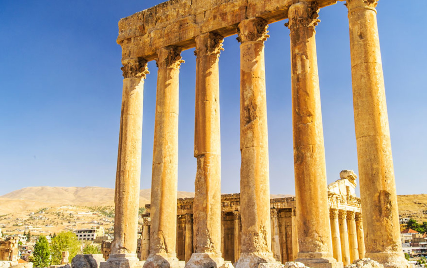 Ancient Columns in Lebanon